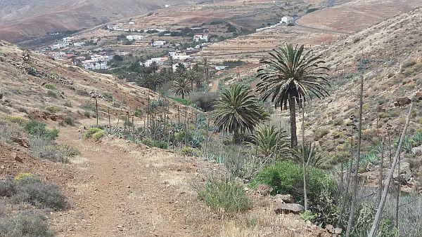 Ruig berglandschap nabij Betancuria