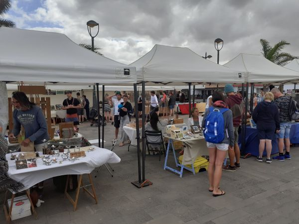 Lajares markt