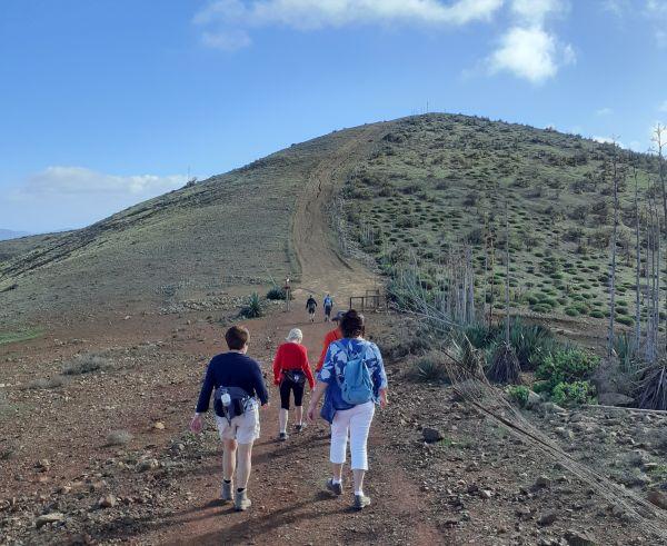 Villa Vital Fuerteventura wandelen